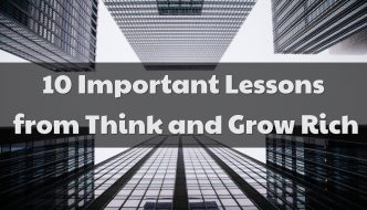10 Important Lessons from Think and Grow Rich